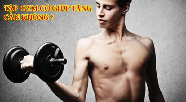 Tập gym tăng cân cho người gầy
