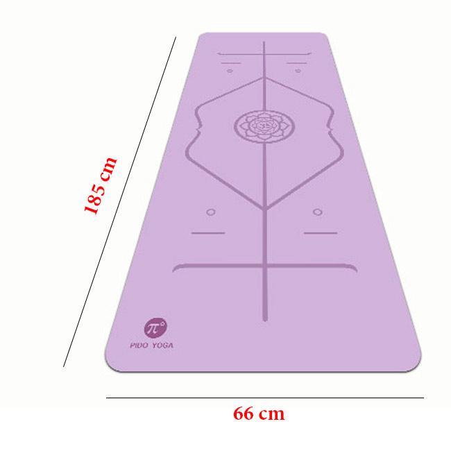 Kích thước thảm Yoga định tuyến Pido
