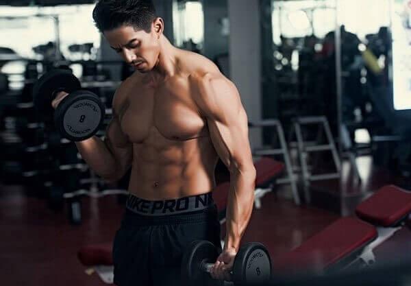 Tăng cơ khi tập gym