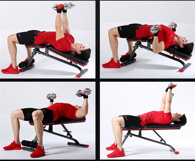 Bài tập với Ghế tập Gym DDS-1201 (2)