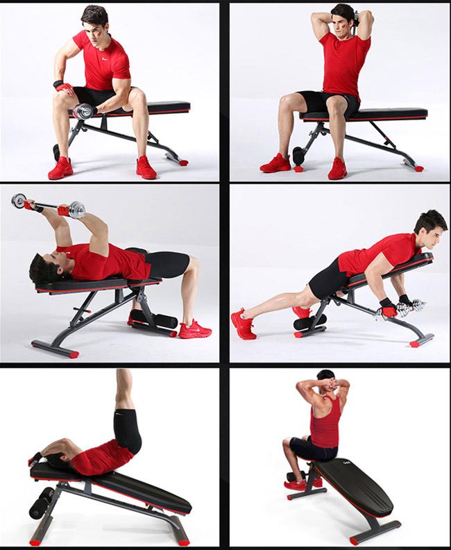 Bài tập với Ghế tập Gym DDS-1201 (3)