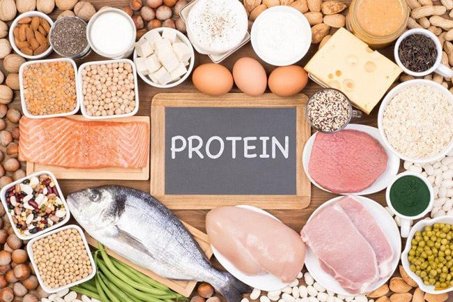 Bổ sung thực phẩm nhiều protein