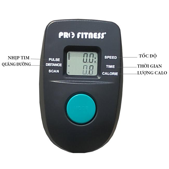 Đồng hồ xe đạp tập Pro-08