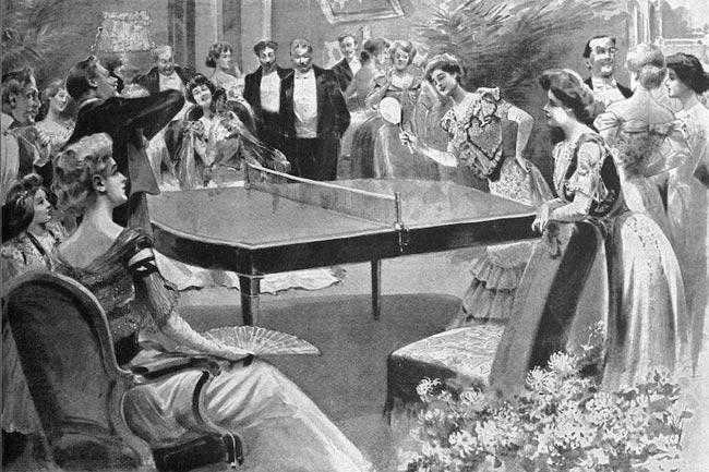 Bóng bàn năm 1901