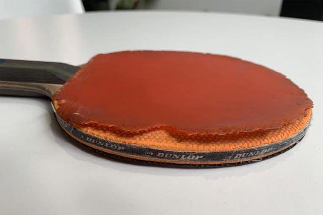 Cách thay mặt vợt bóng bàn cũ