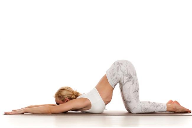 Tư thế Yoga con chó