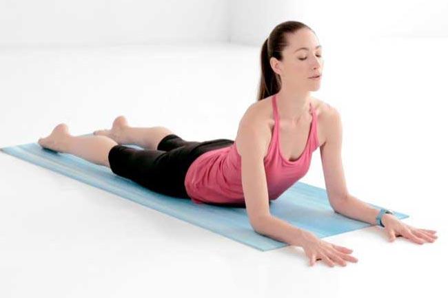 Tư thế yoga nhân sư