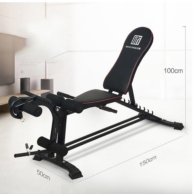 Kích thước ghế tập gym Miking PS-031