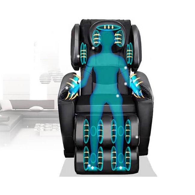 Ghế massage sử dụng túi khí