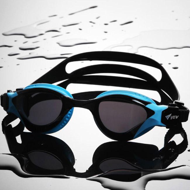Kính bơi View V2000 màu xanh đen