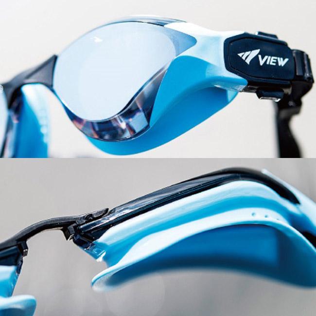 Chi tiết kính bơi View V2000