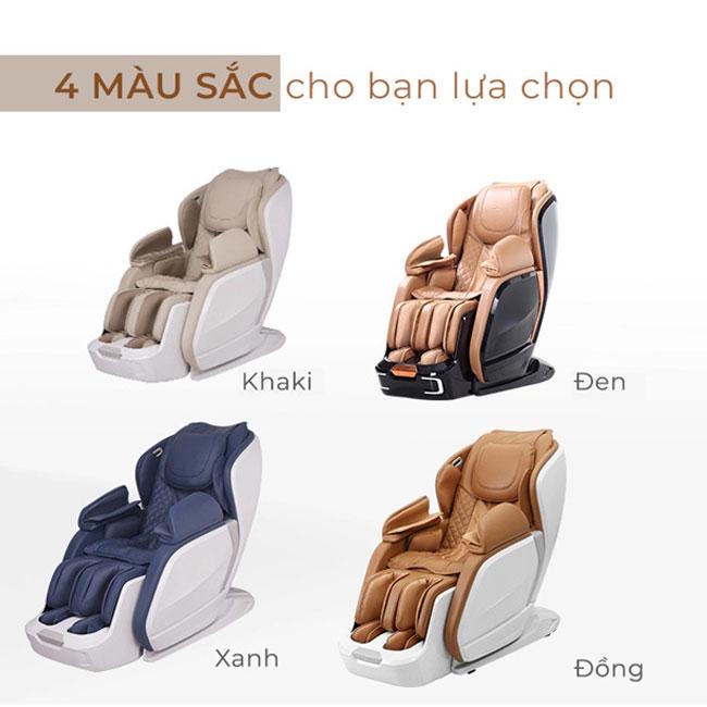 Ghế massage cao cấp OR-200 có 4 màu sắc sang trọng cho bạn lựa chọn