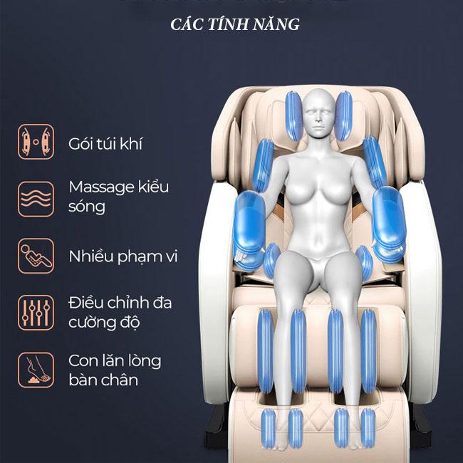 Tính năng ghế massage oreni OR-150