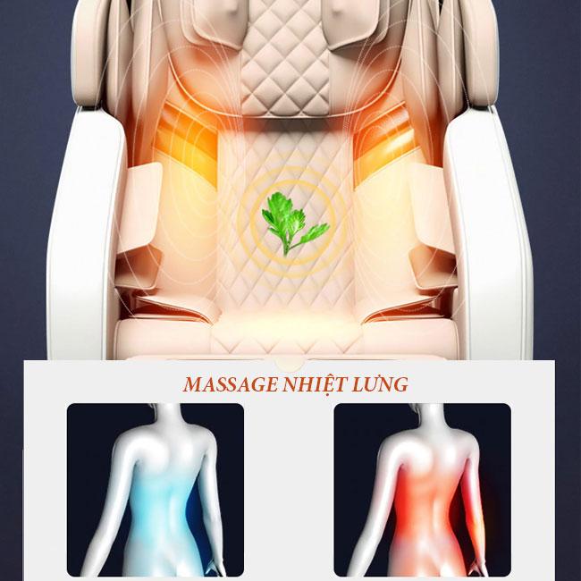 Chức năng ghế massage toàn thân OR-150