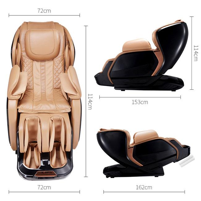 Kích thước của ghế massage cao cấp nhập khẩu OR-200