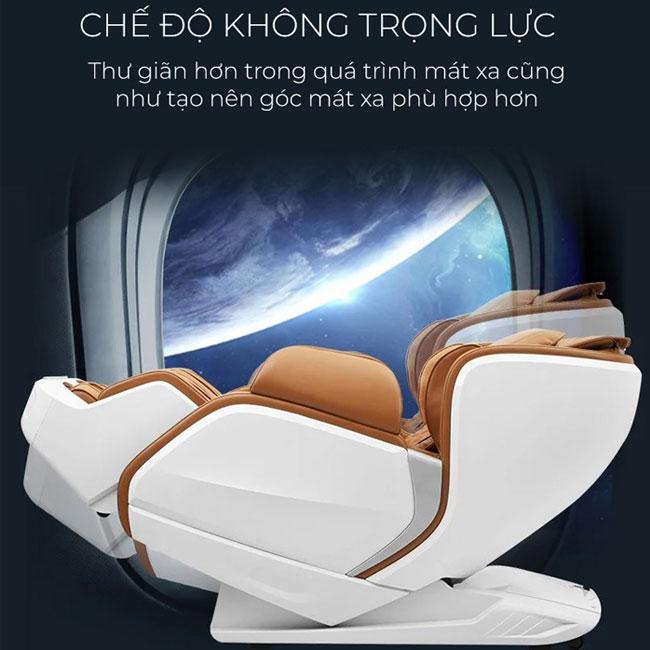 Tính năng không trọng lực trên ghế massage toàn thân Oreni OR-200