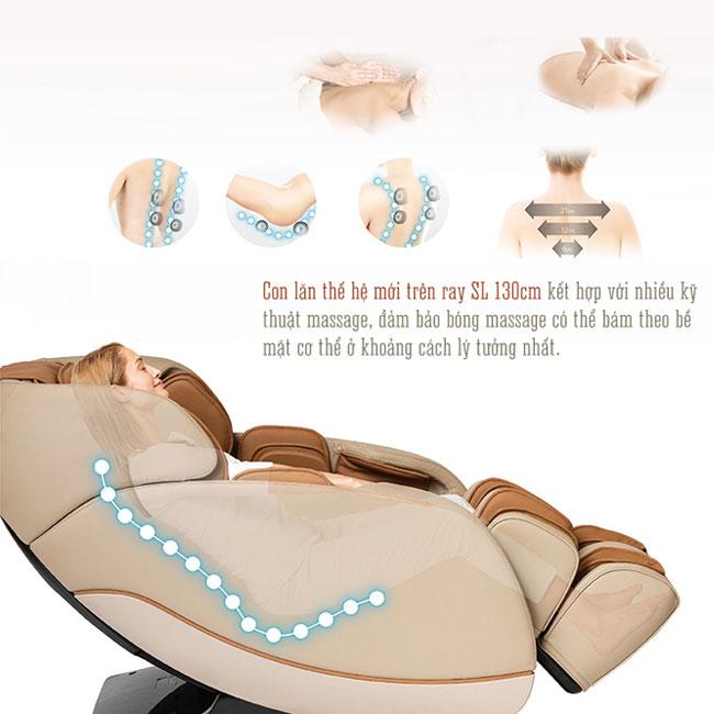 Tính năng trên ghế massage Oreni OR-180