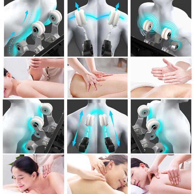 Các kỹ thuật massage trên ghế oreni or-520