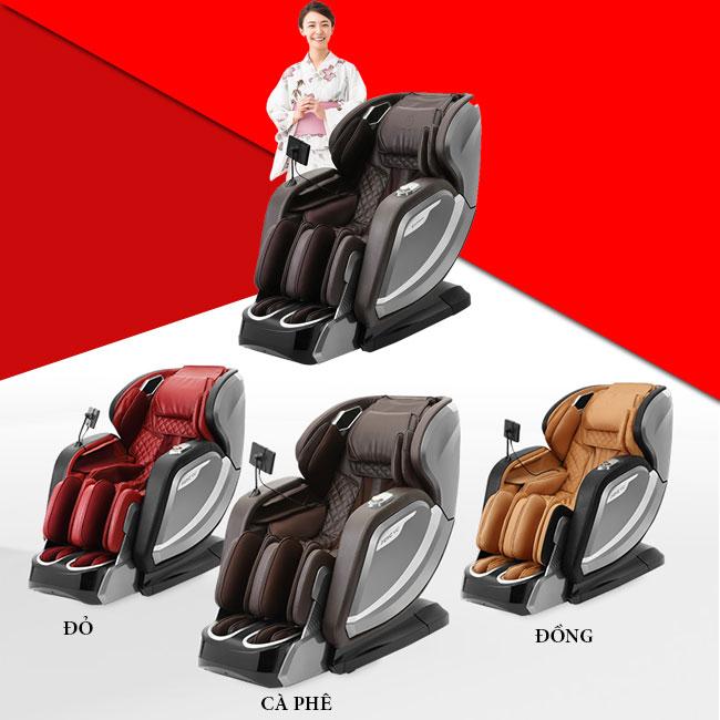 Ghế massage Oreni OR-520 phiên bản thường nhiều màu sắc