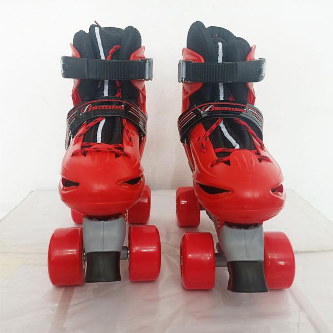 Giày patin trẻ em bamwei đỏ