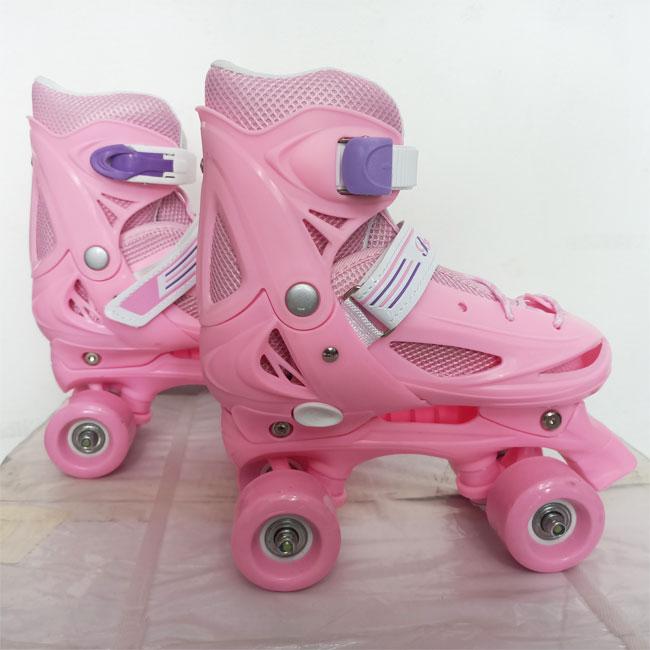 Giày patin bamwei hồng