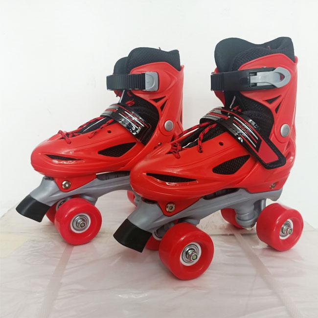 Giày trượt patin Bamwei đỏ