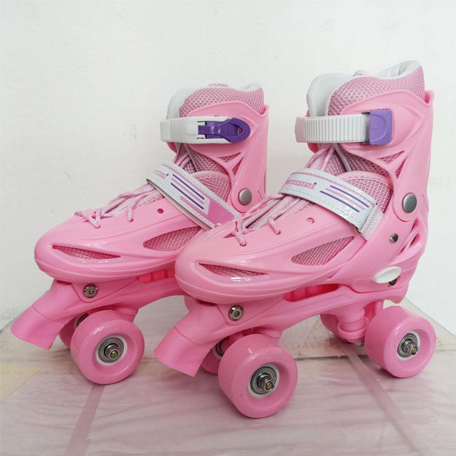Giày trượt patin Bamwei Hồng